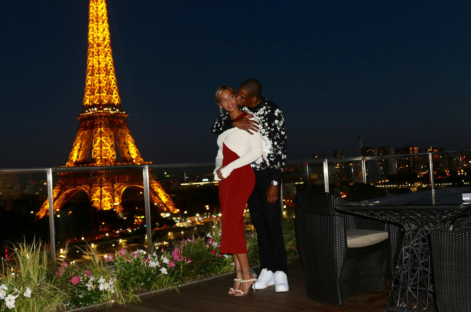 Beyonce & Jay Z in Paris