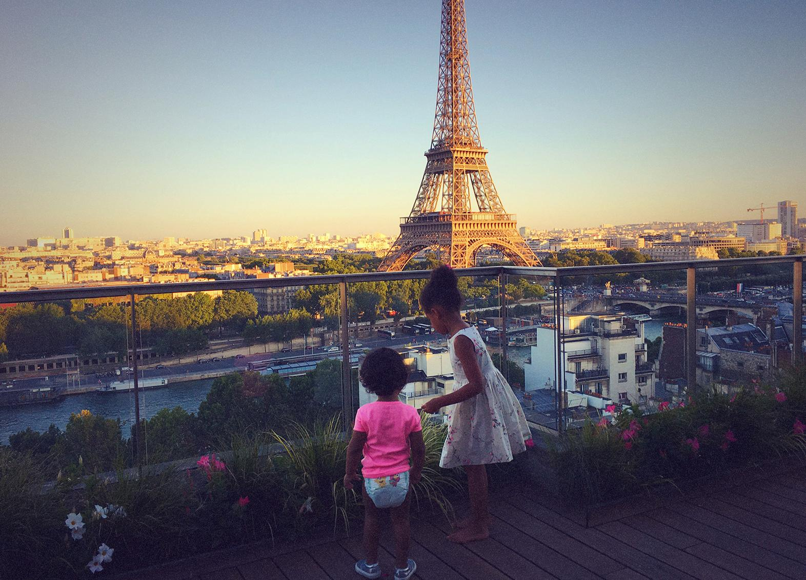 Blue Ivy in Paris
