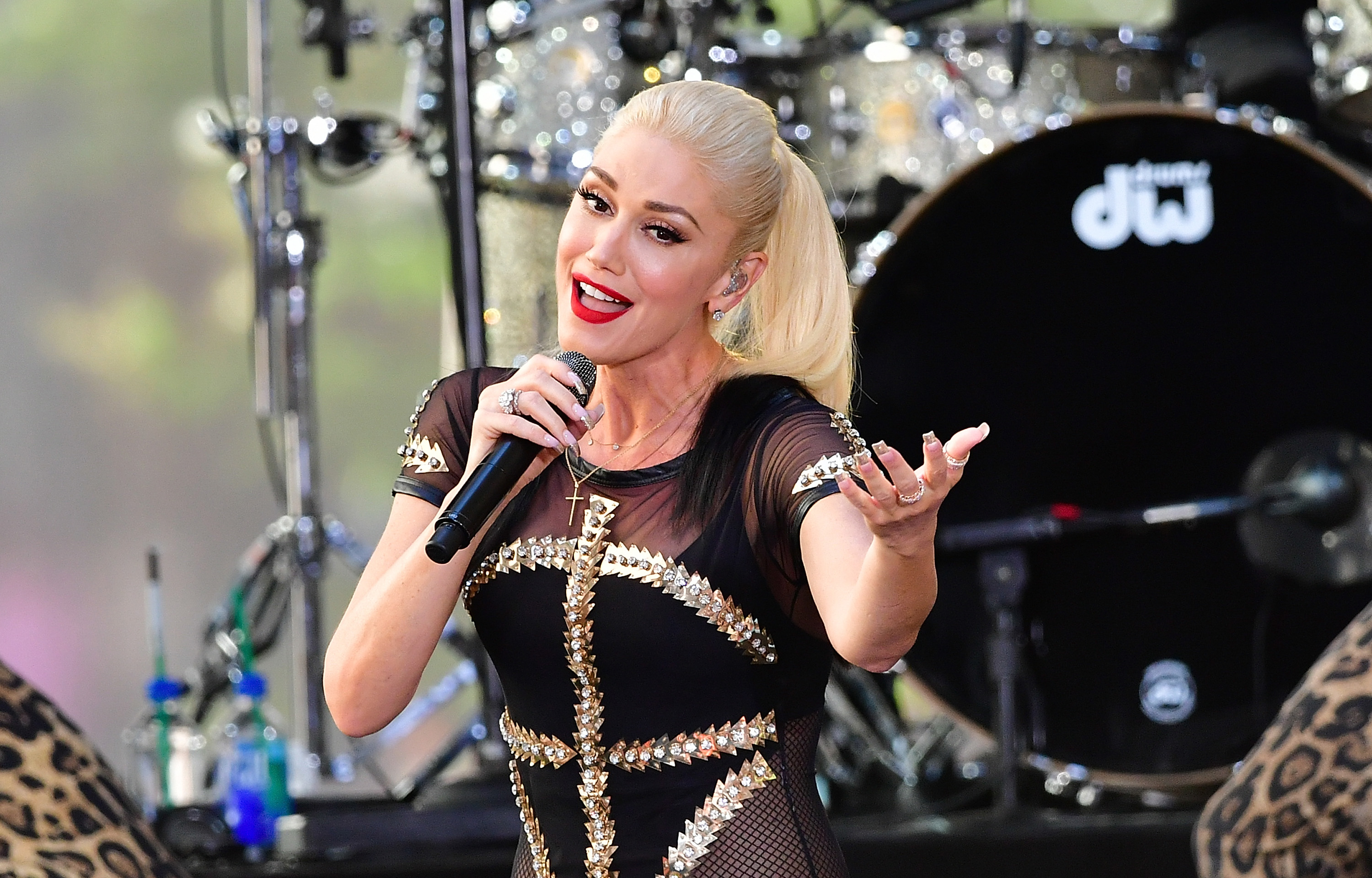 Gwen Stefani New York City Live