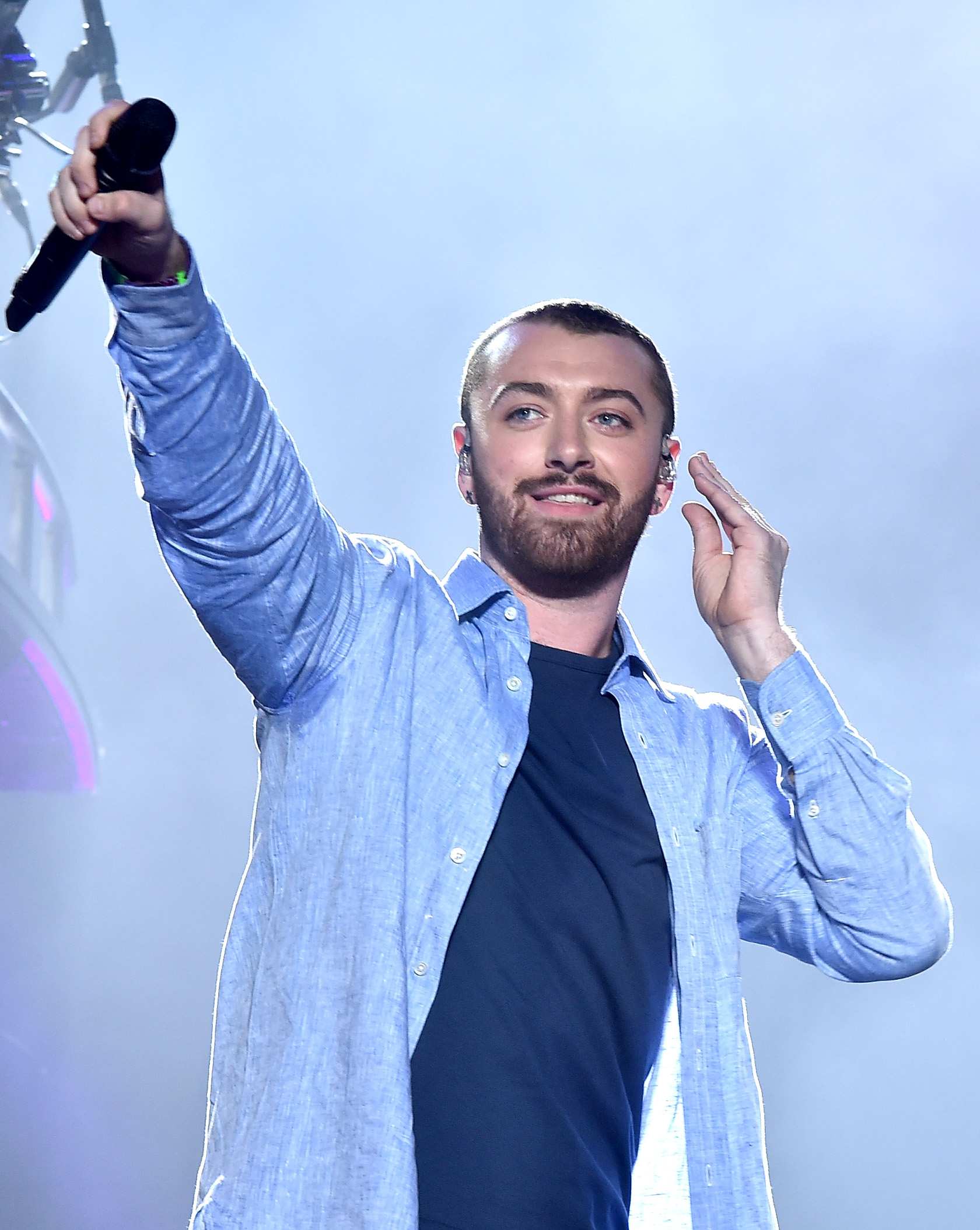 Sam Smith at 2016 Coachella Valley Music And Arts
