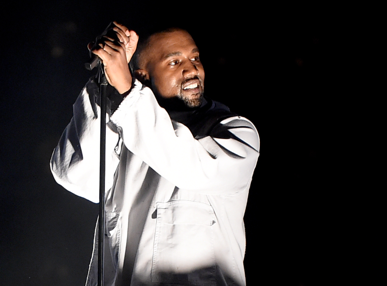 Kanye West at 102.7 KIIS FM's 2015 Wango Tango - S