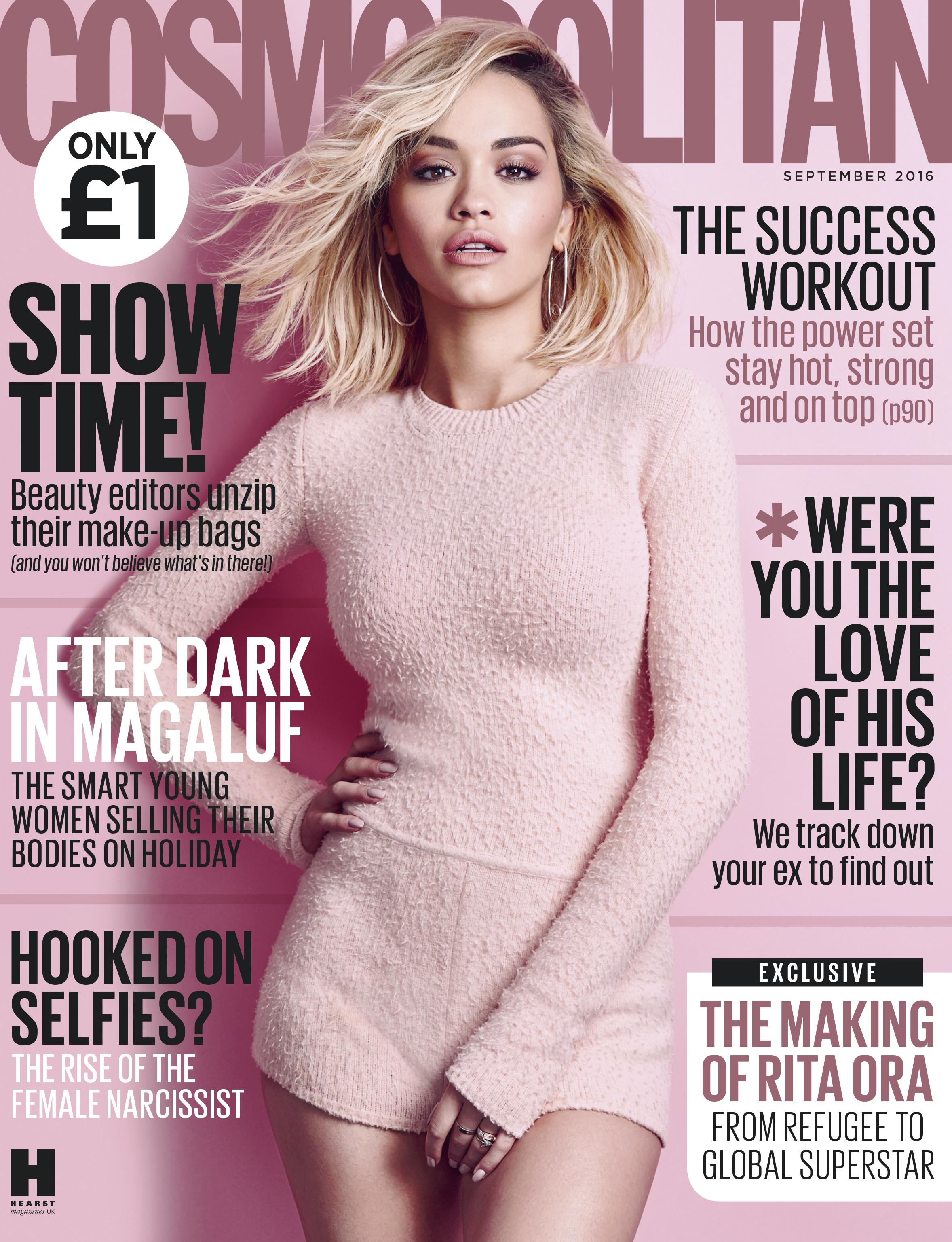 Rita Ora Cosmo Cover 2016