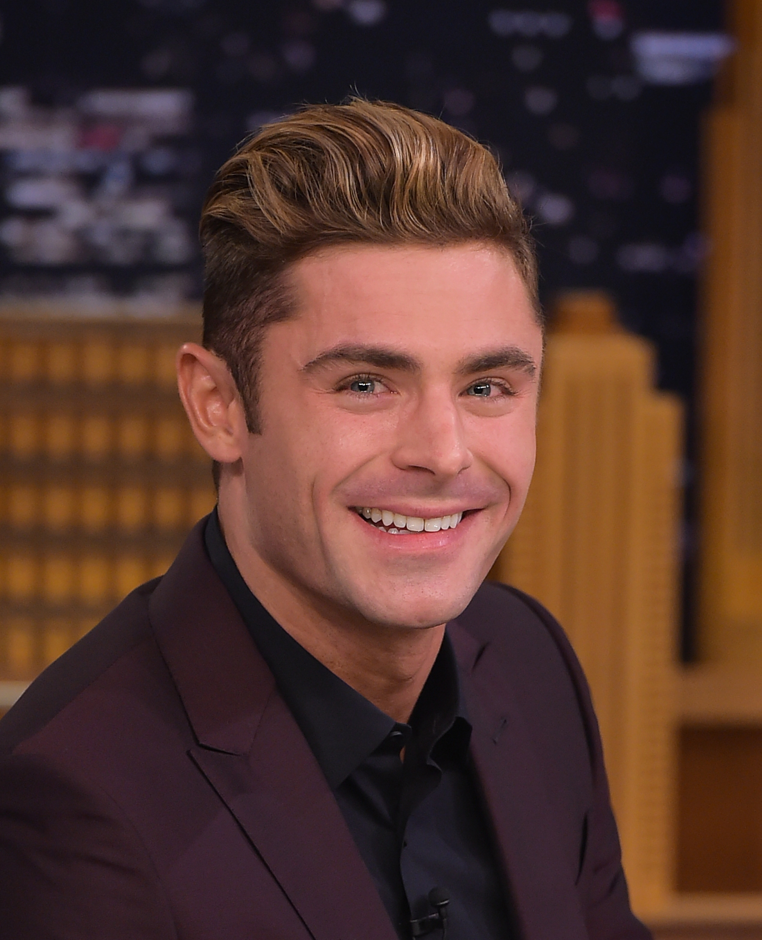 Zac Efron on Jimmy Fallon 2016