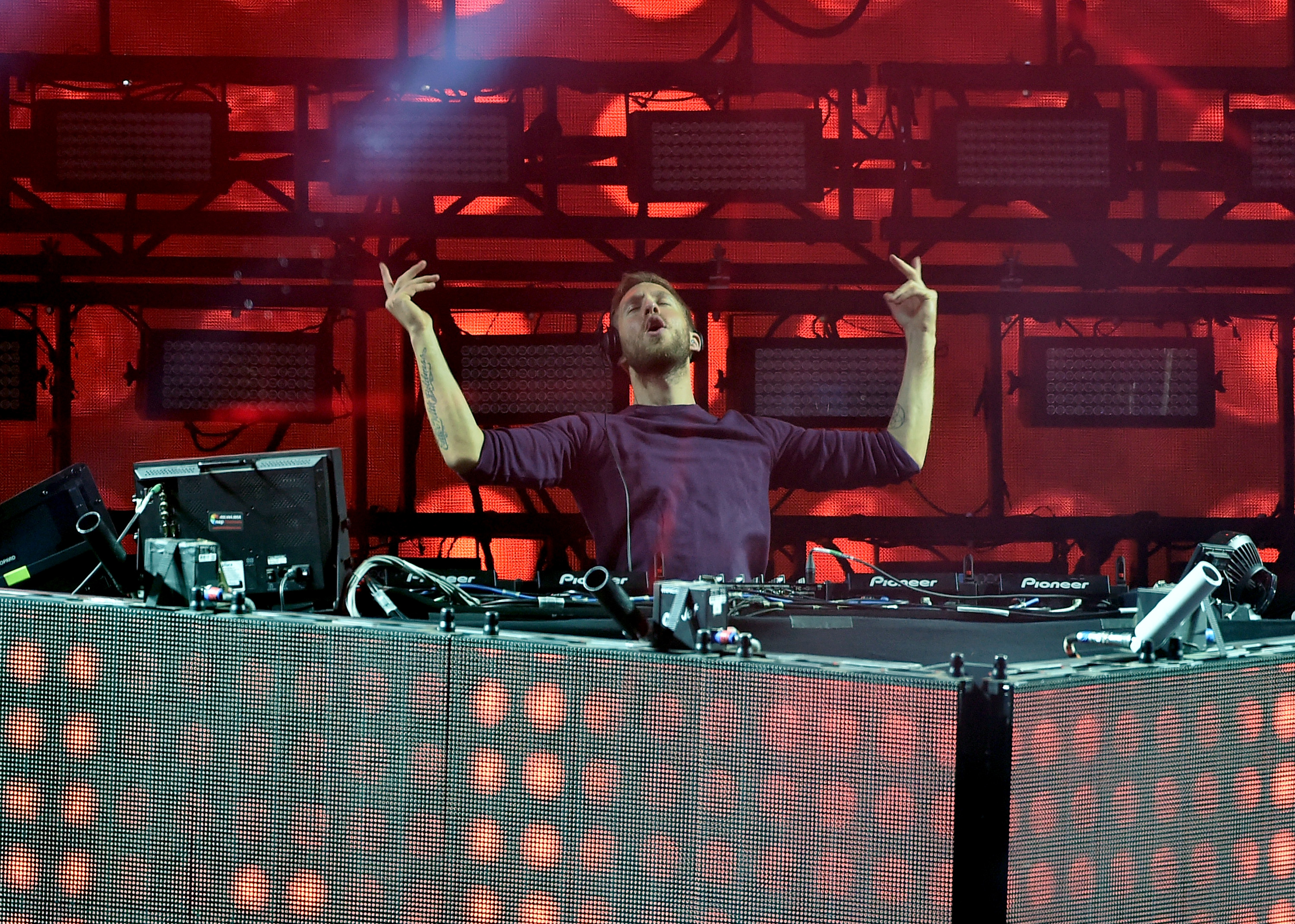 Calvin Harris at 2016 Coachella Valley Music And A