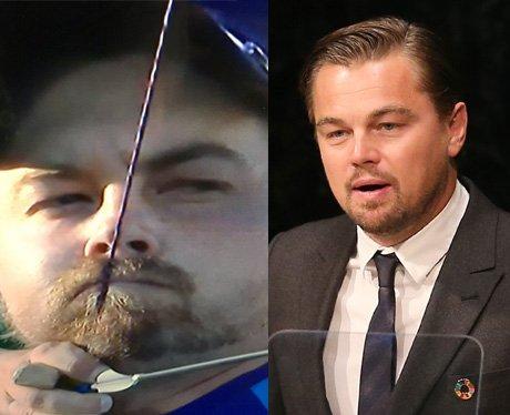 Leonardo DiCaprio wins silver at the Olympics... k