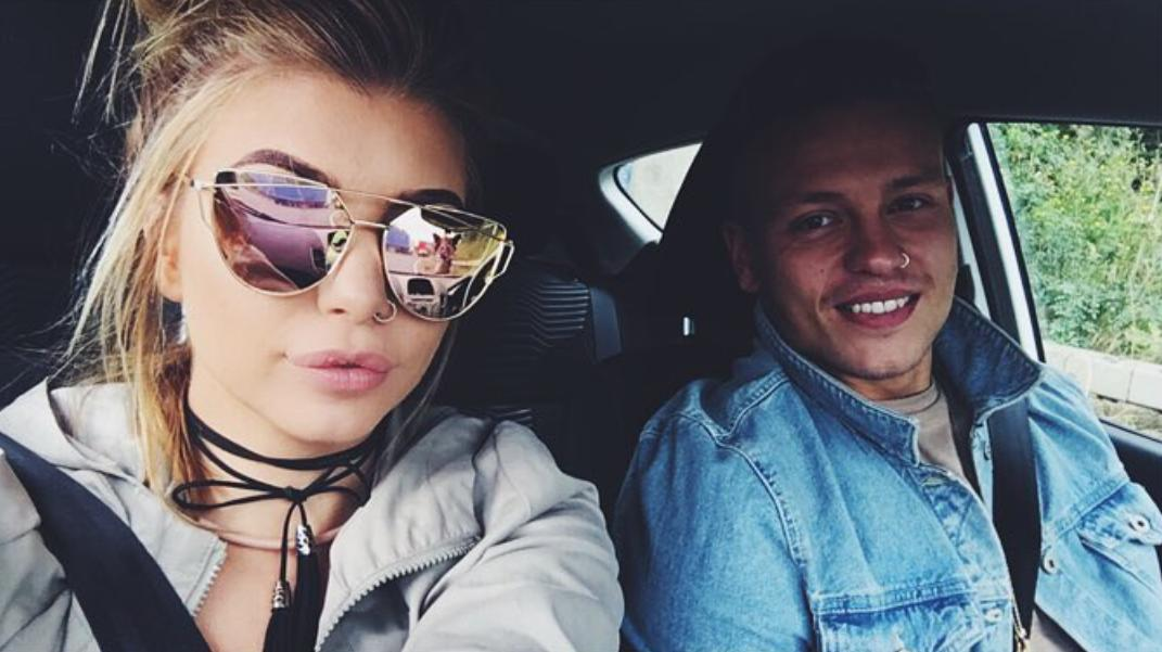 Olivia Buckland and Alex Bowen Love Island