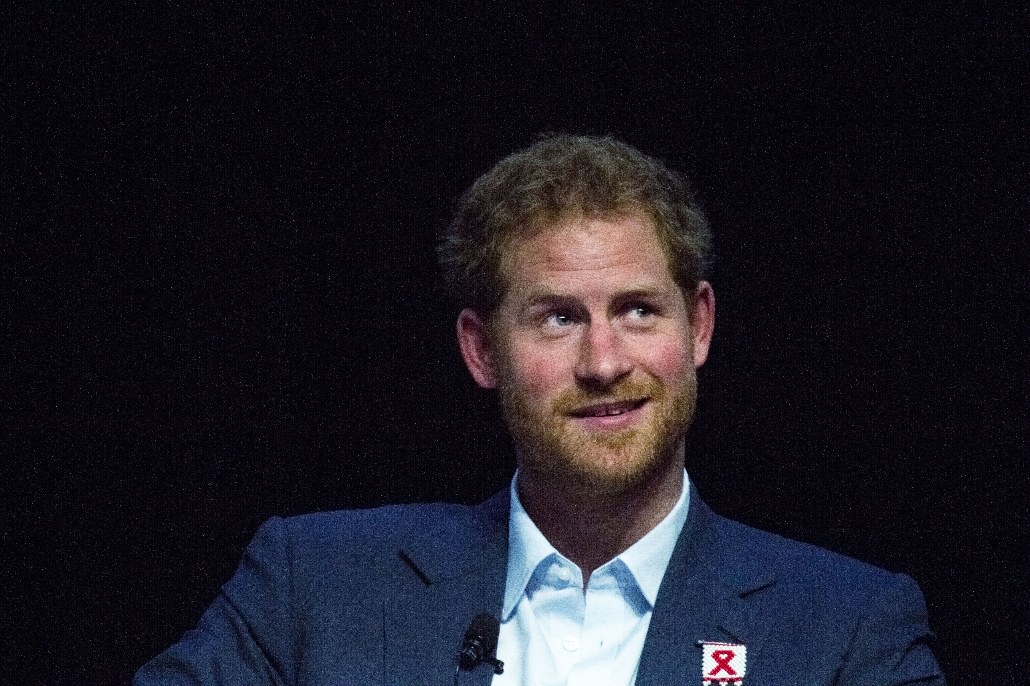 Prince Harry attends the International Aids Confer