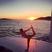 Image 10: Nicole Scherzinger does yoga on board luxury yacht