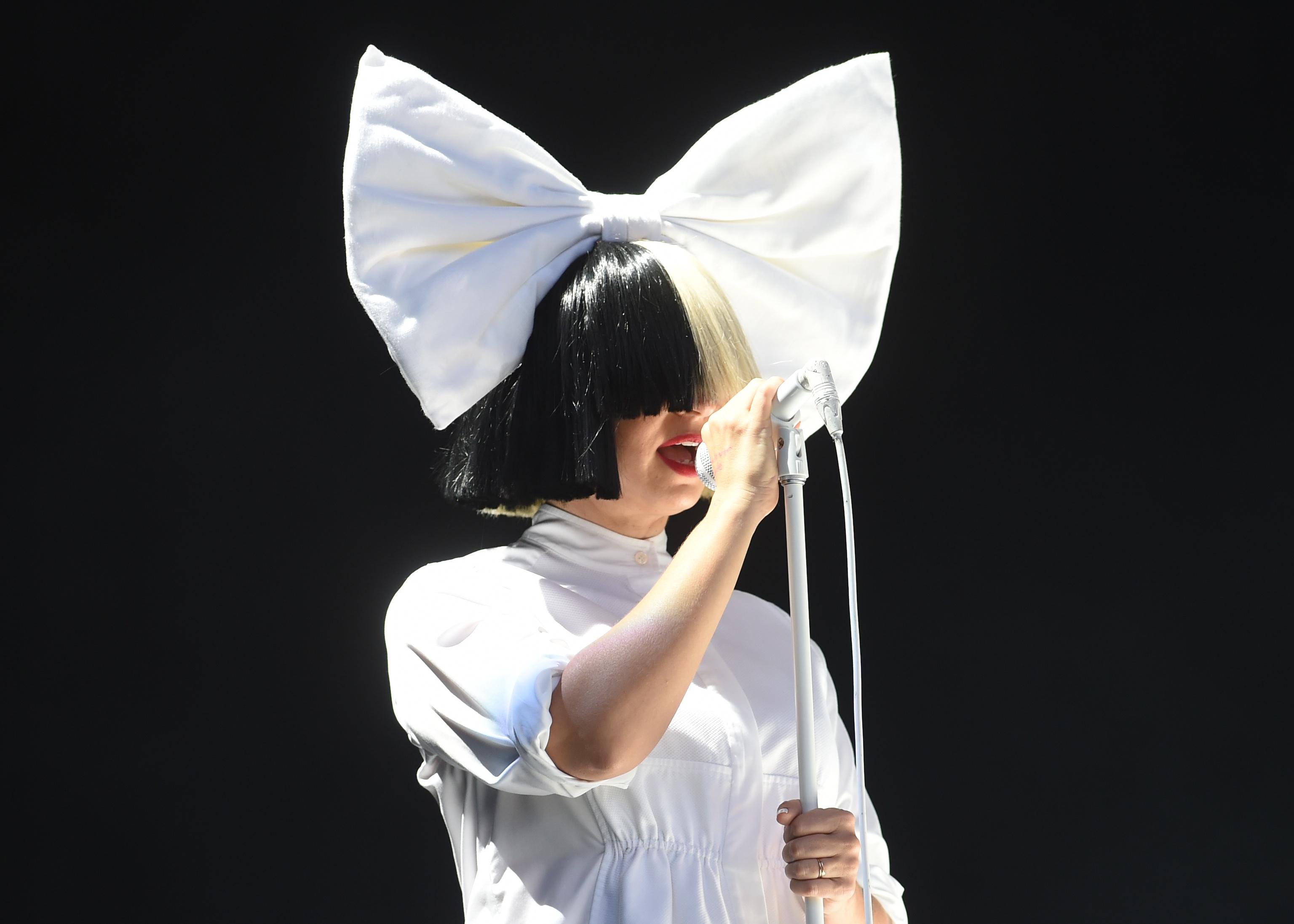 Sia at V Festival