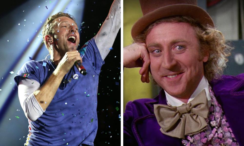 Coldplay Live Cover Of 'Pure Imagination'