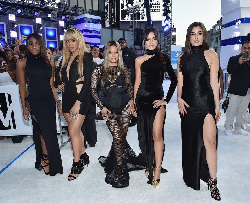 Fifth Harmony Red Carpet Arrivals MTV VMAs 2016