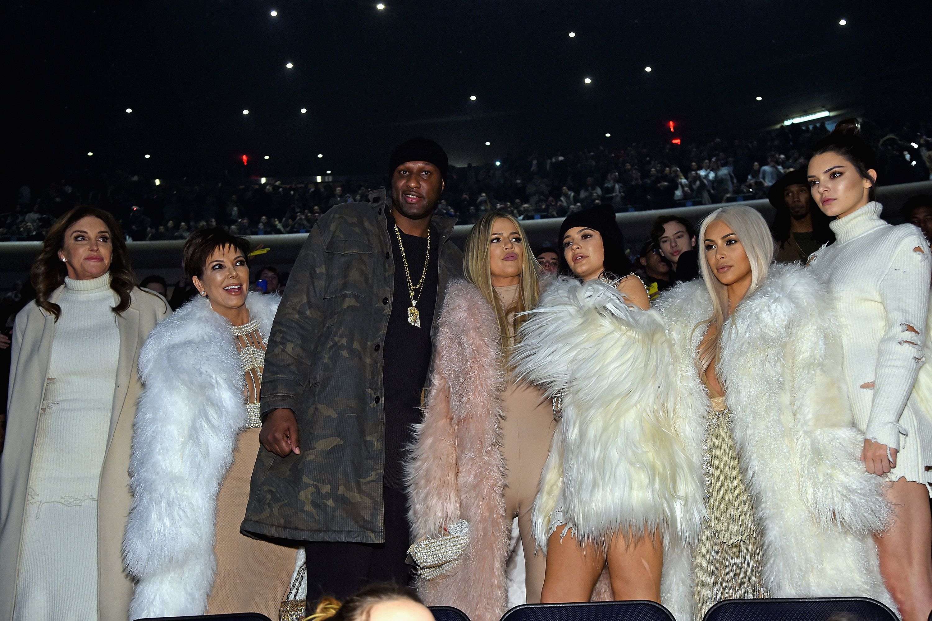 Kardashians at Yeezy