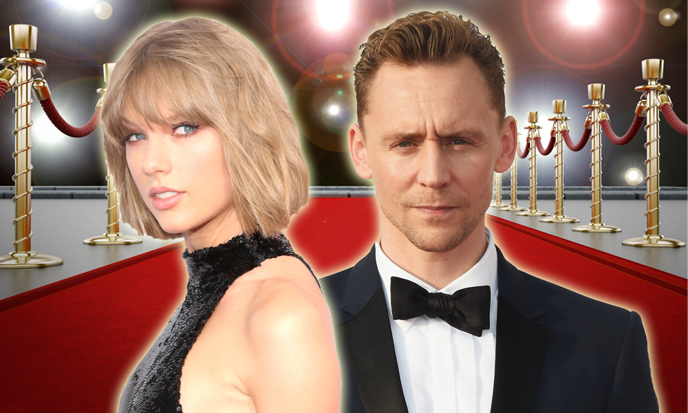 Taylor Swift & Tom Hiddlestone Red Carpet