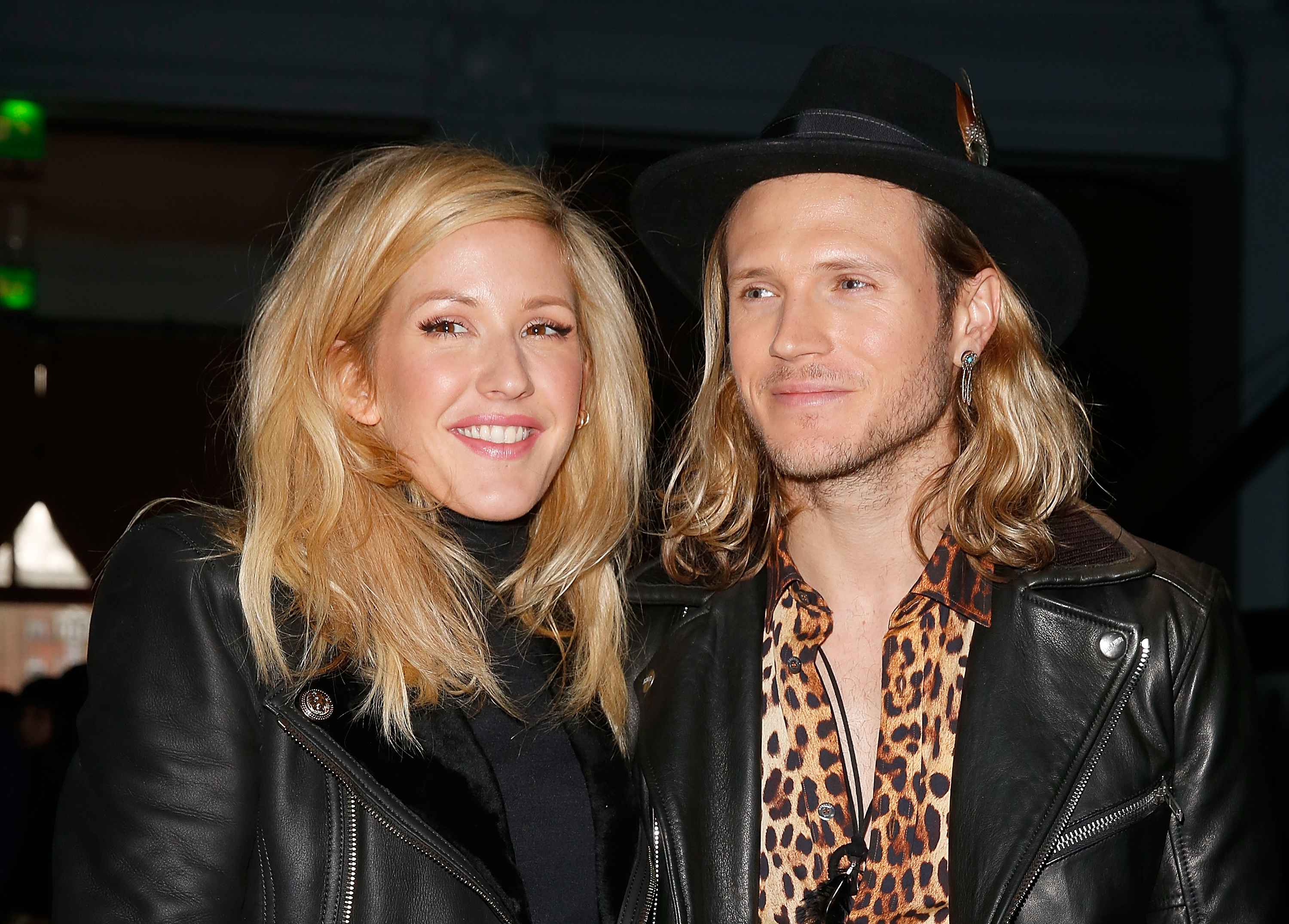 Ellie Goulding & Dougie Poynter at Front Row: Day