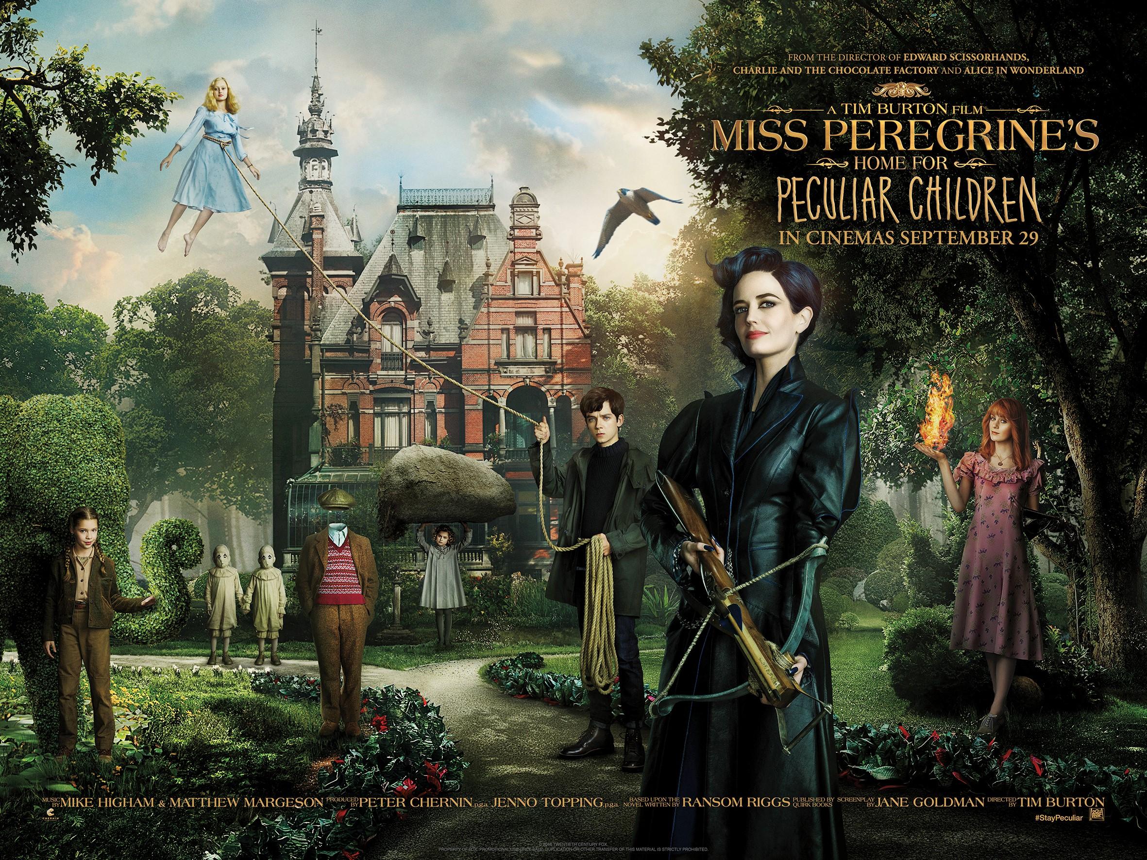Miss Peregrine's quad image