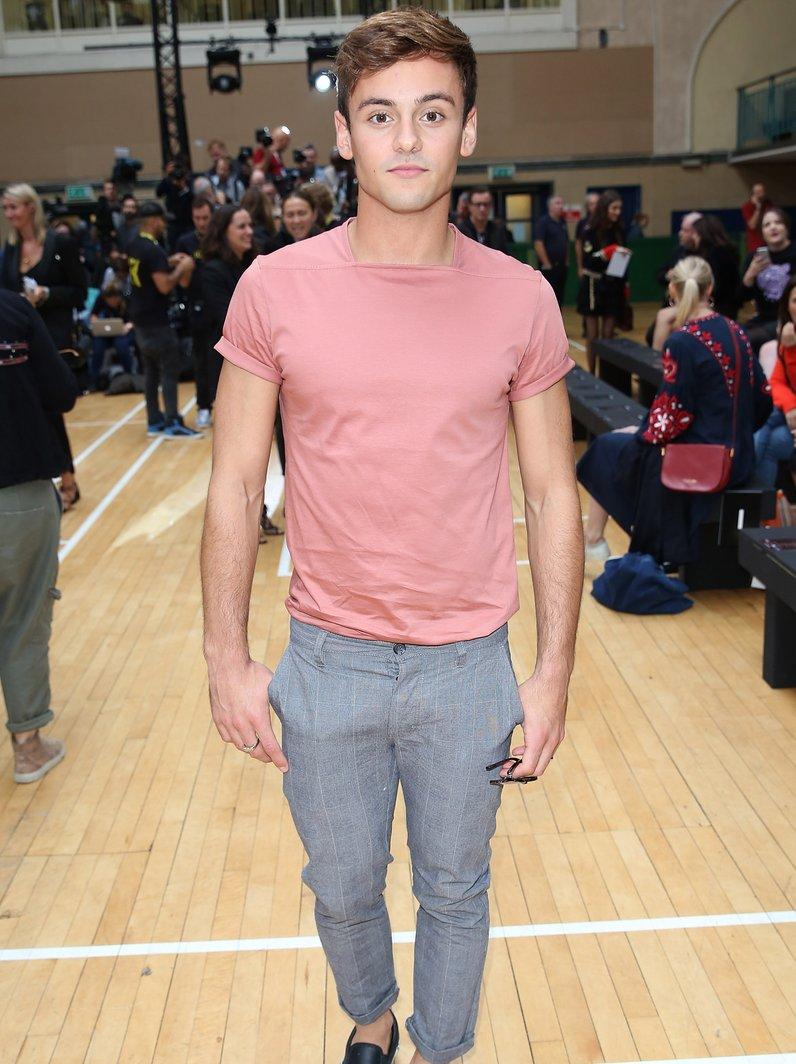 Fashion Week Tom Daley