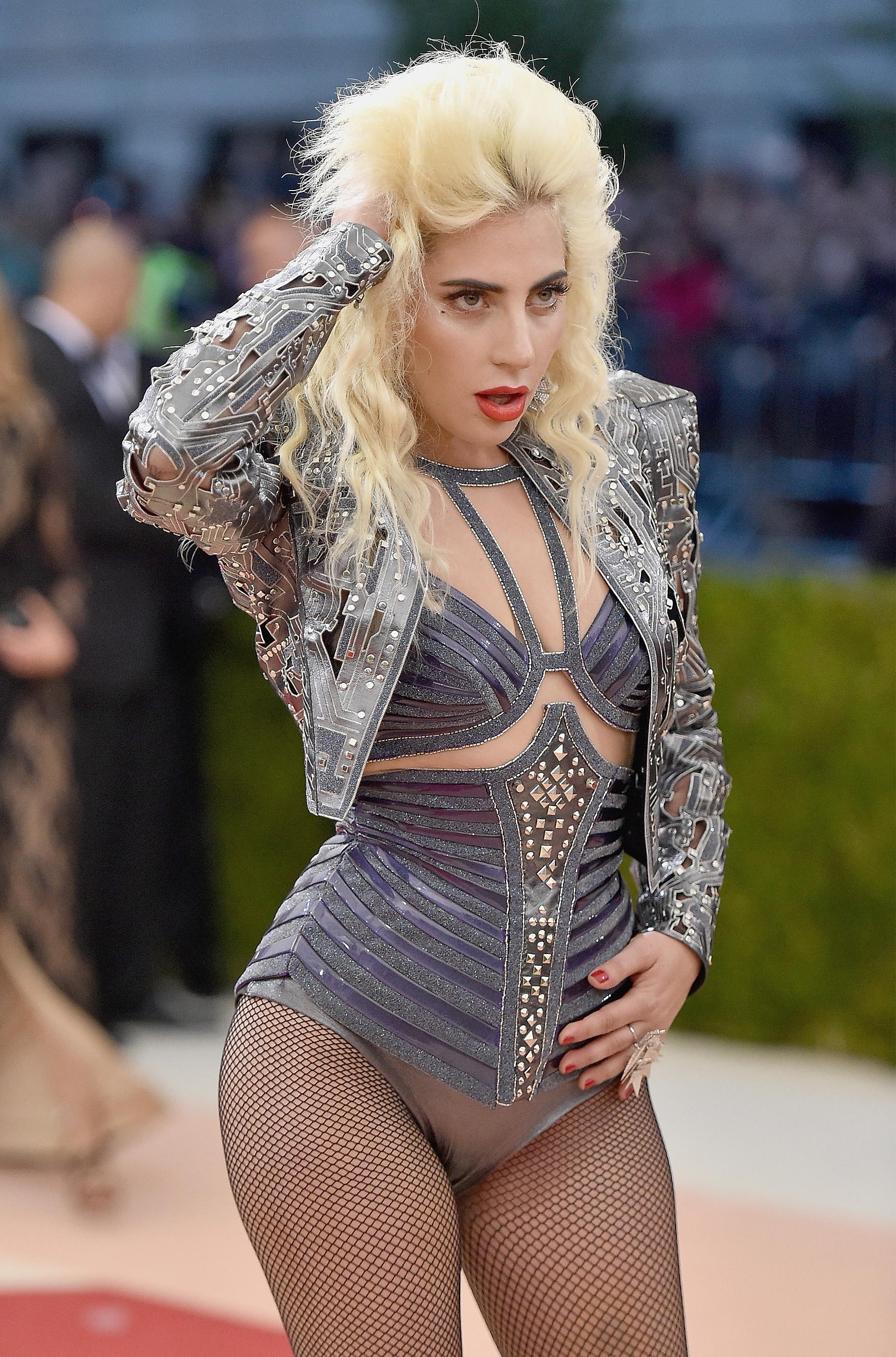 Lady Gaga at the 'Manus x Machina: Fashion In An A