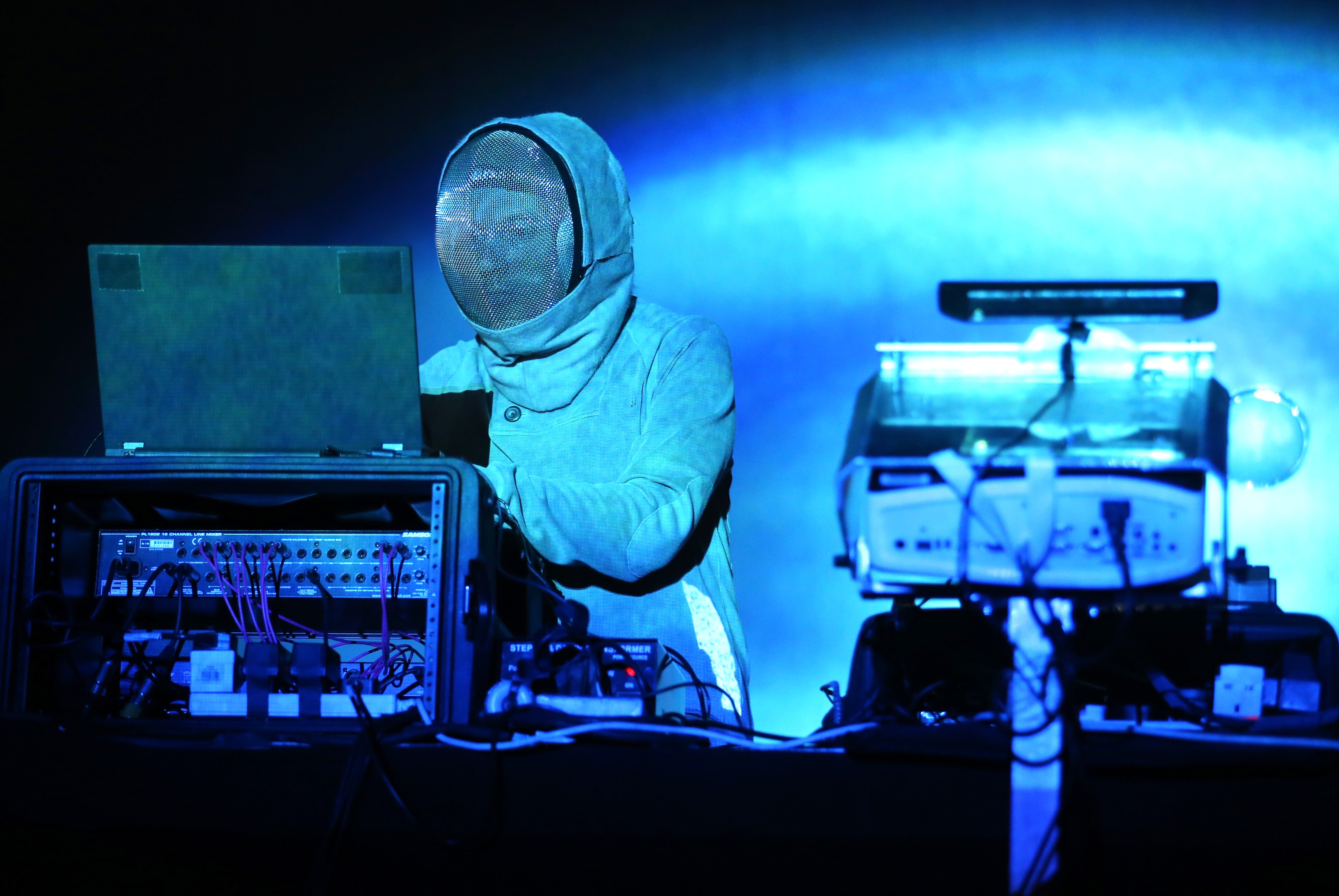 Squarepusher at 2015 Coachella Valley Music And Ar