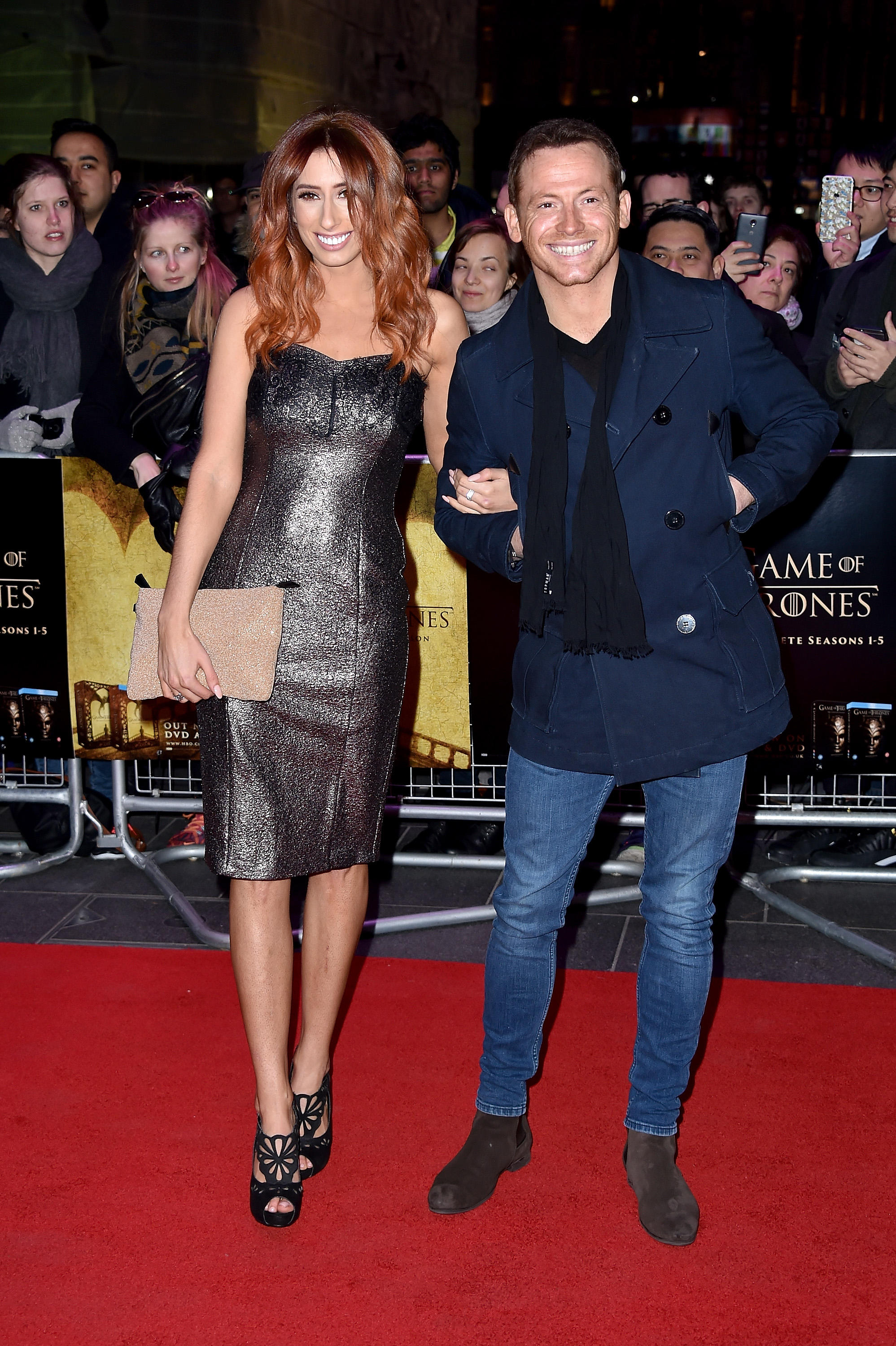 Stacey Solomon & Joe Swash