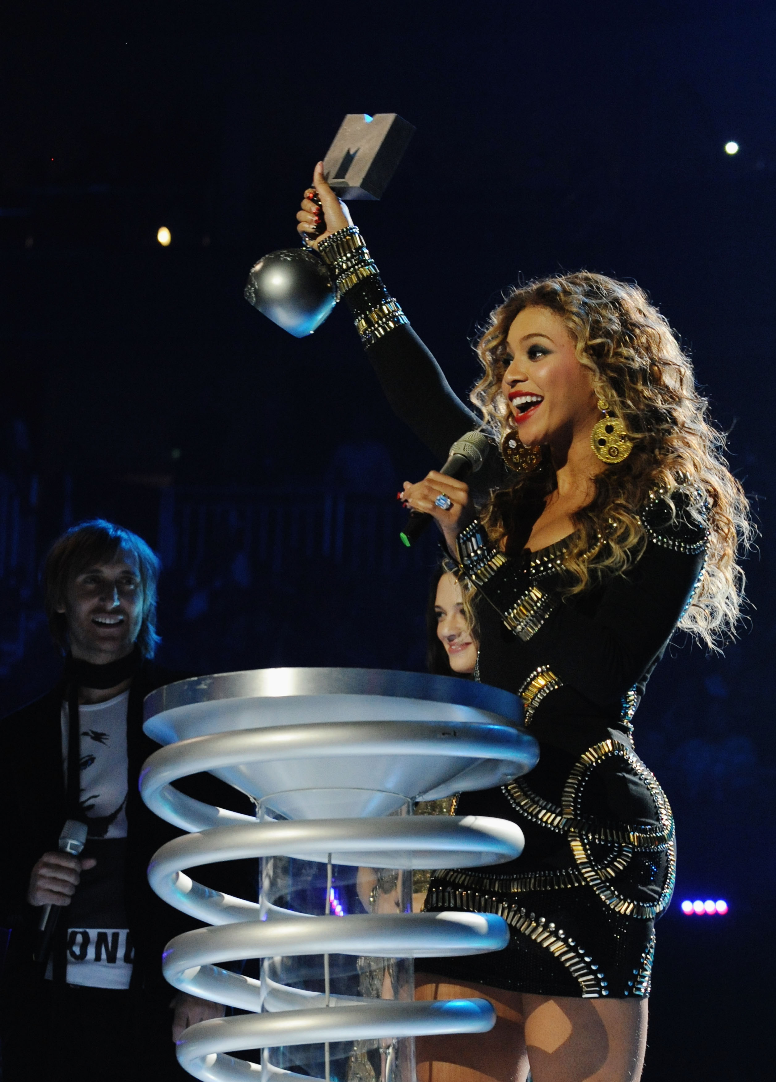 Beyonce at the MTV EMAs