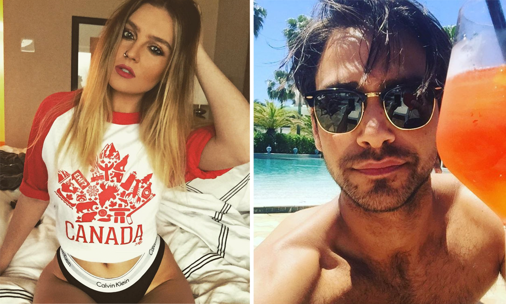 Perrie Edwards and Luke Pasqualino