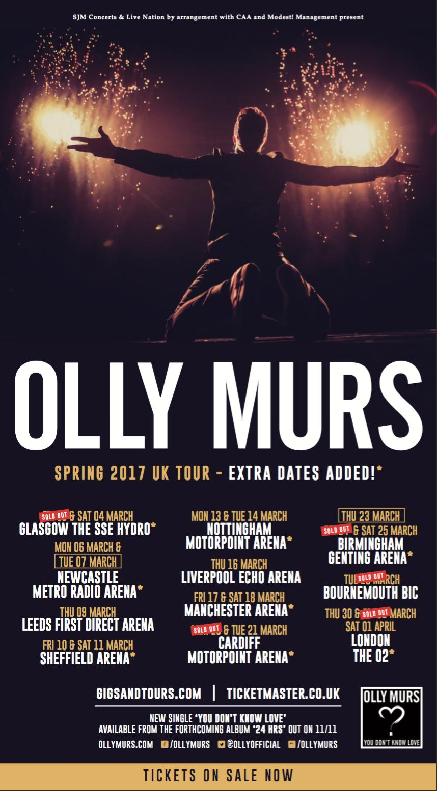 Olly Murs Tour Dates