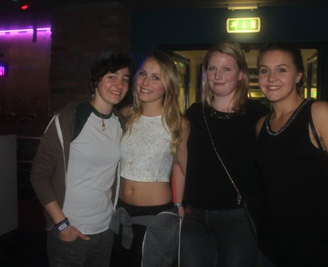 Freshers at Newcastle Uni Men's Bar