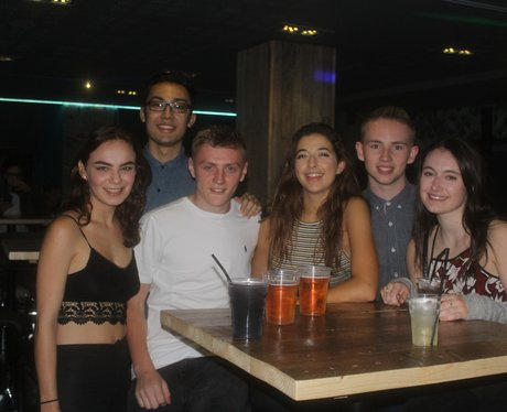 Freshers at Newcastle Uni Men's Bar