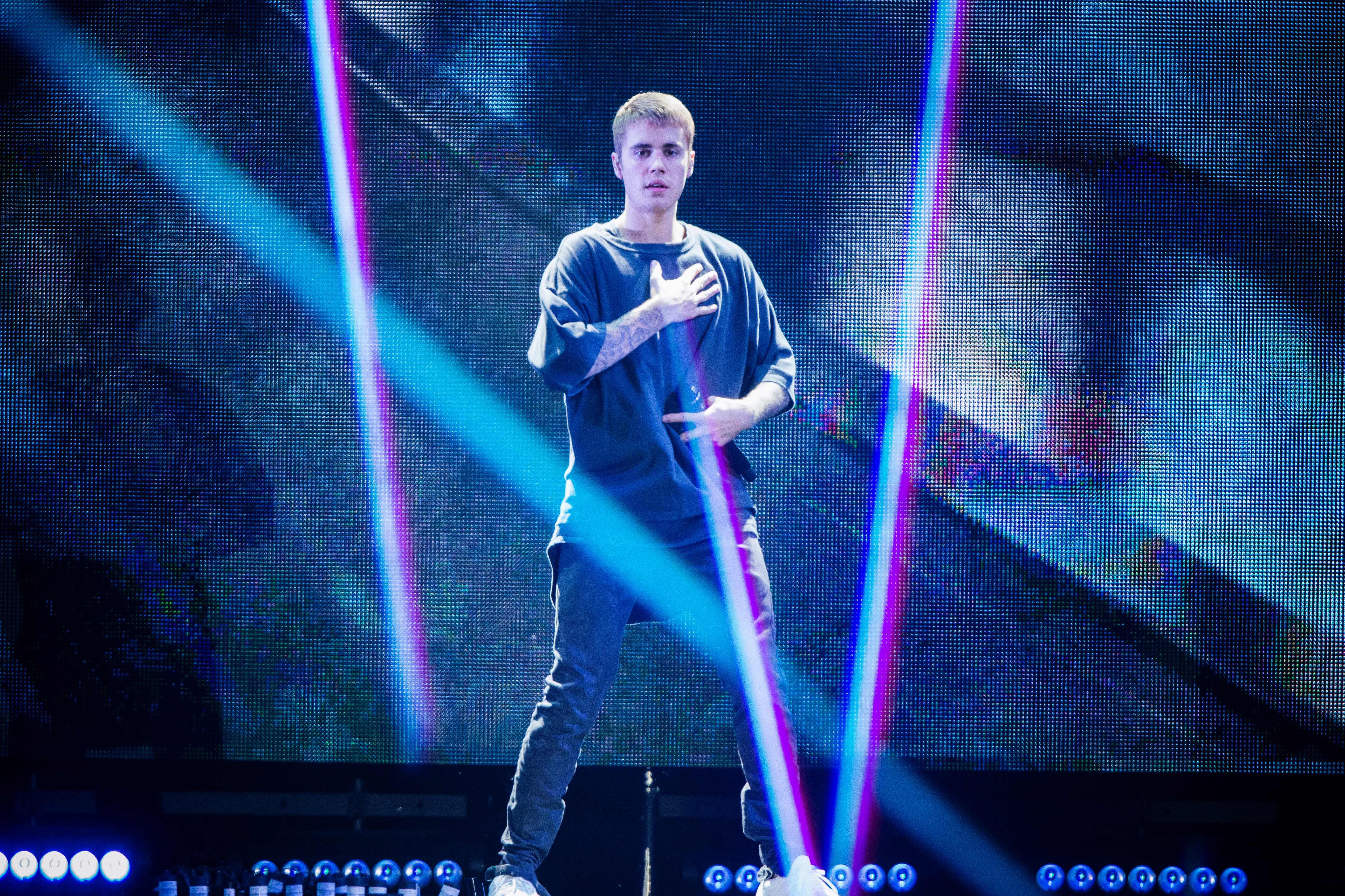 Justin Bieber DENMARK-MUSIC-BIEBER