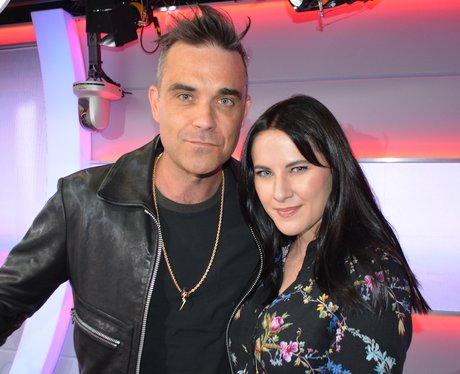 Robbie Williams Kat Shoob Big Top 40