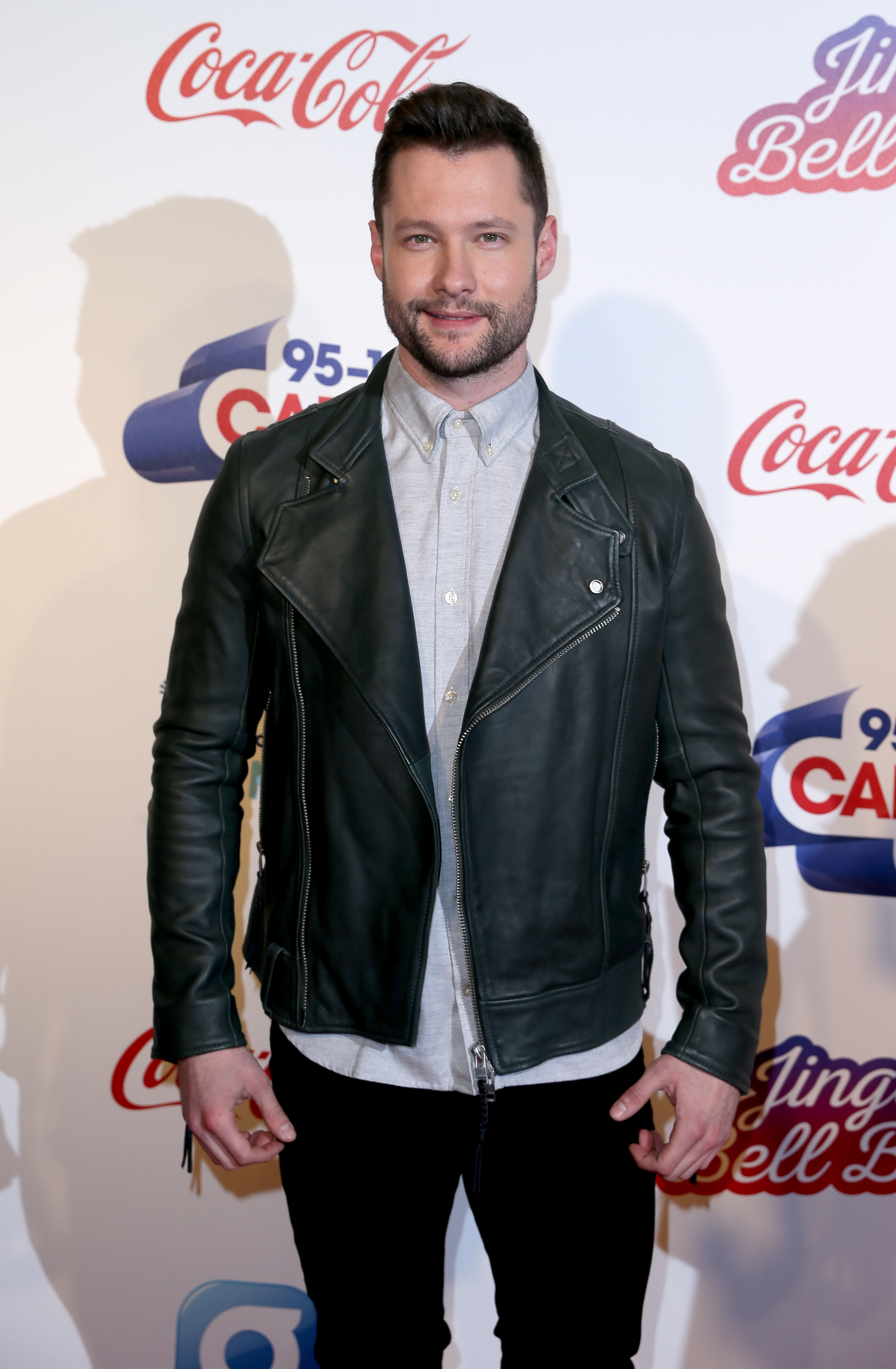 Calum Scott Jingle Bell Ball 2016 Red Carpet