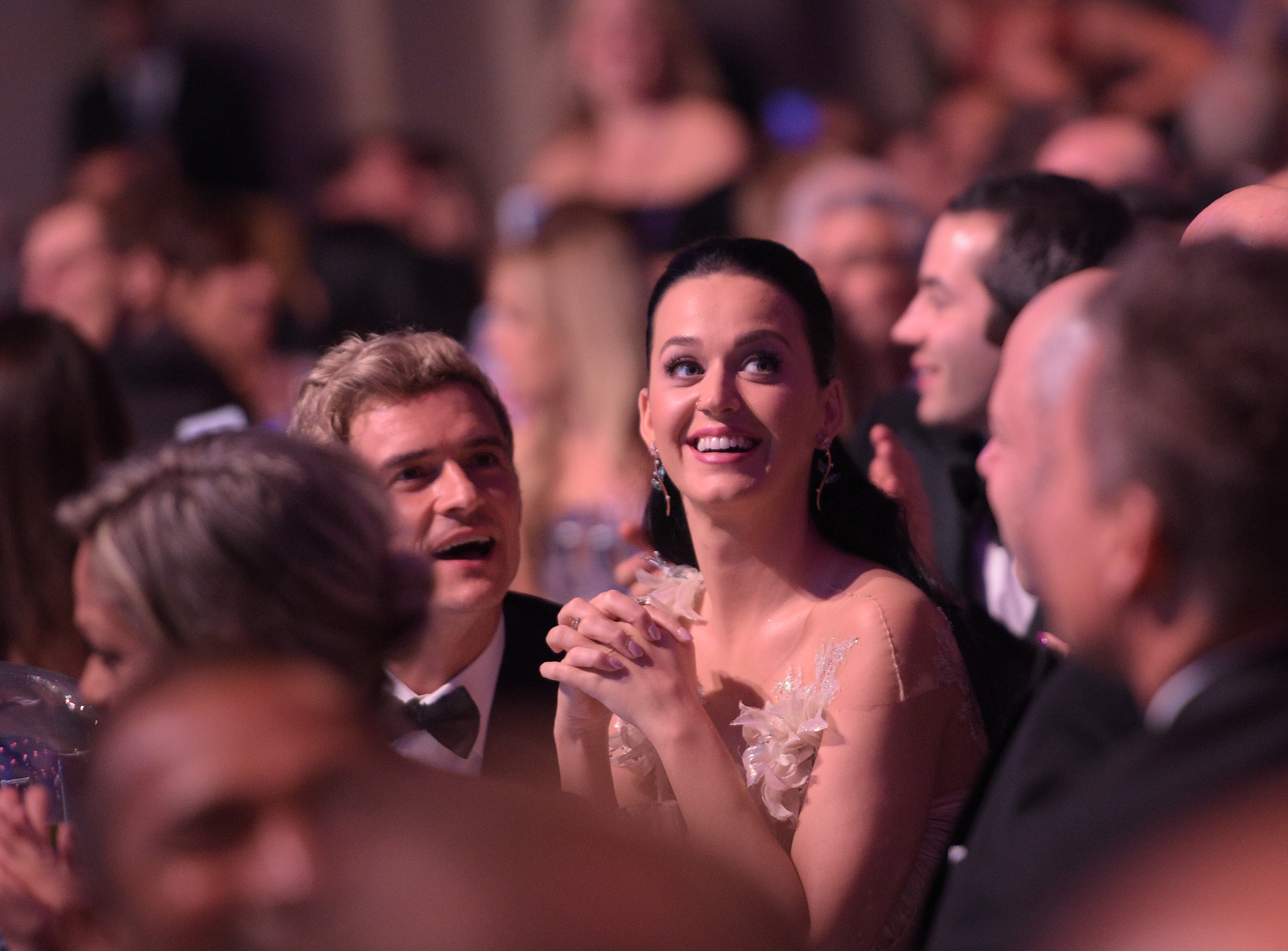 Katy Perry & Orlando Bloom at UNICEF Awards