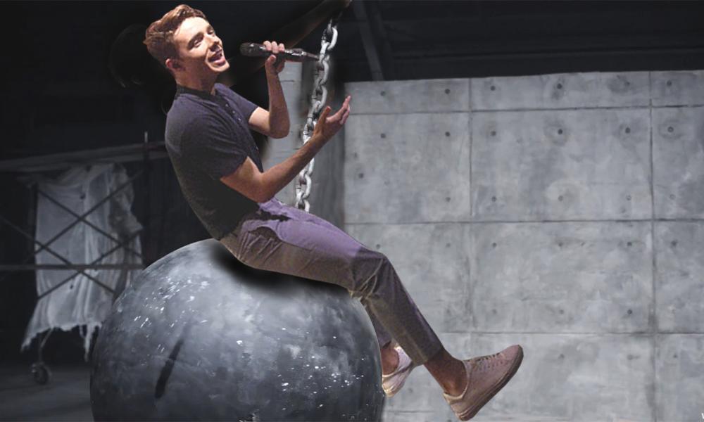 Nathan Sykes Wrecking Ball
