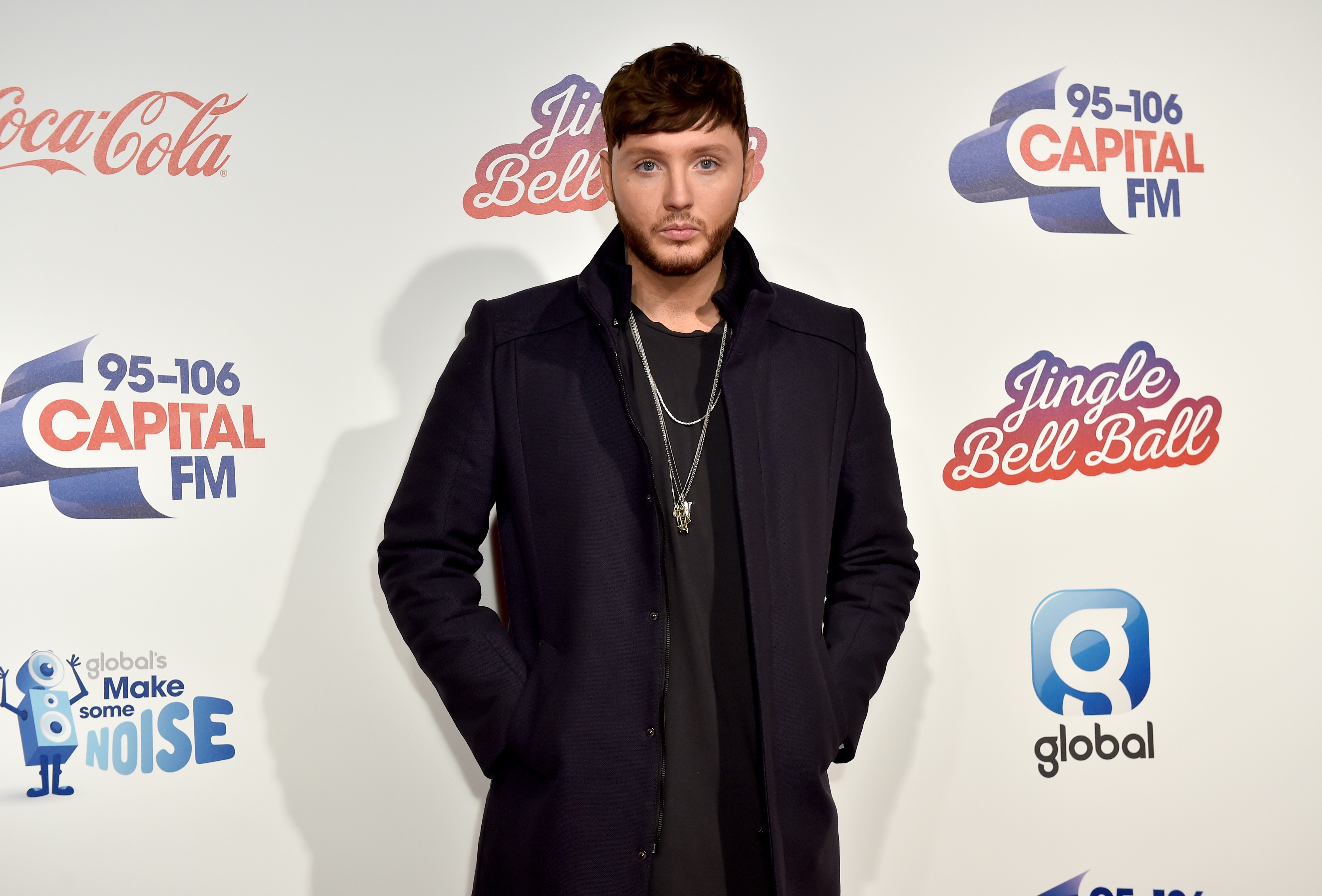 James Arthur Jingle Bell Ball 2016 Red Carpet
