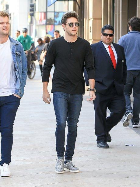 Niall Horan is seen in Los Angeles
