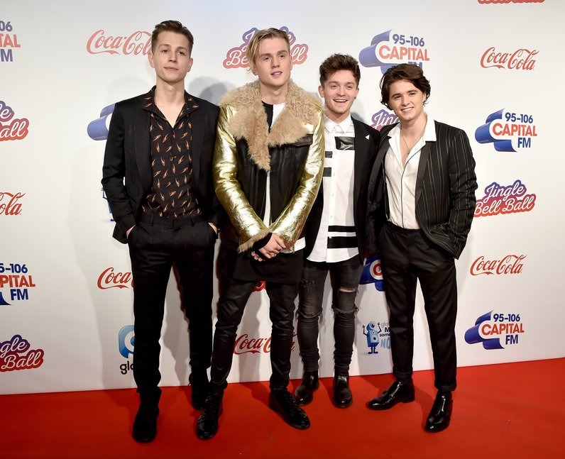 The Vamps Jingle Bell Ball 2016 Red Carpet