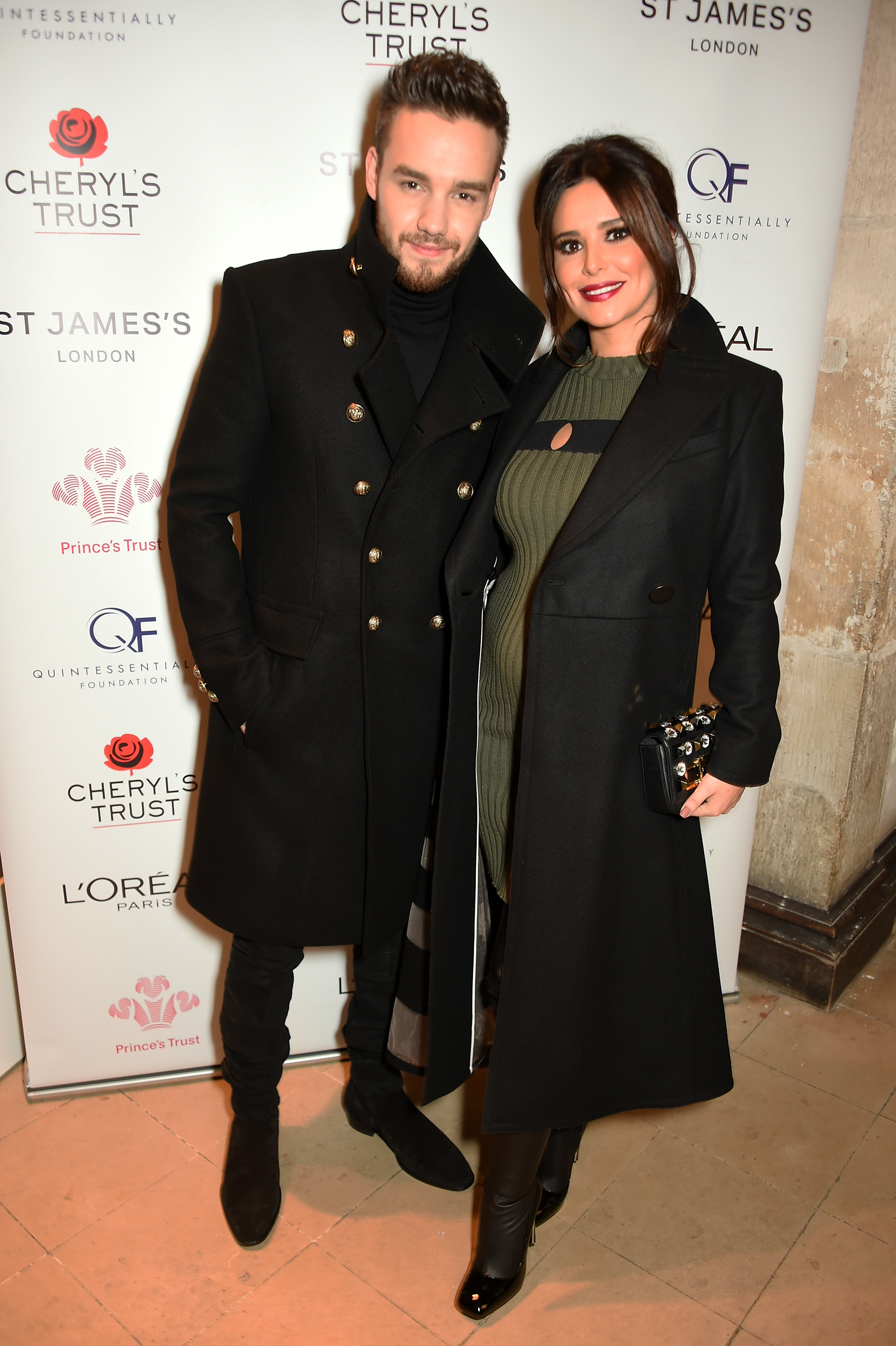Liam and Cheryl at St James's London carol concert