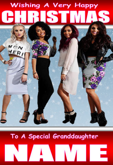 Little Mix Christmas Card