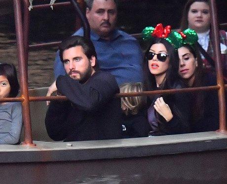 Scott Disick looks bored AF at Disneyland