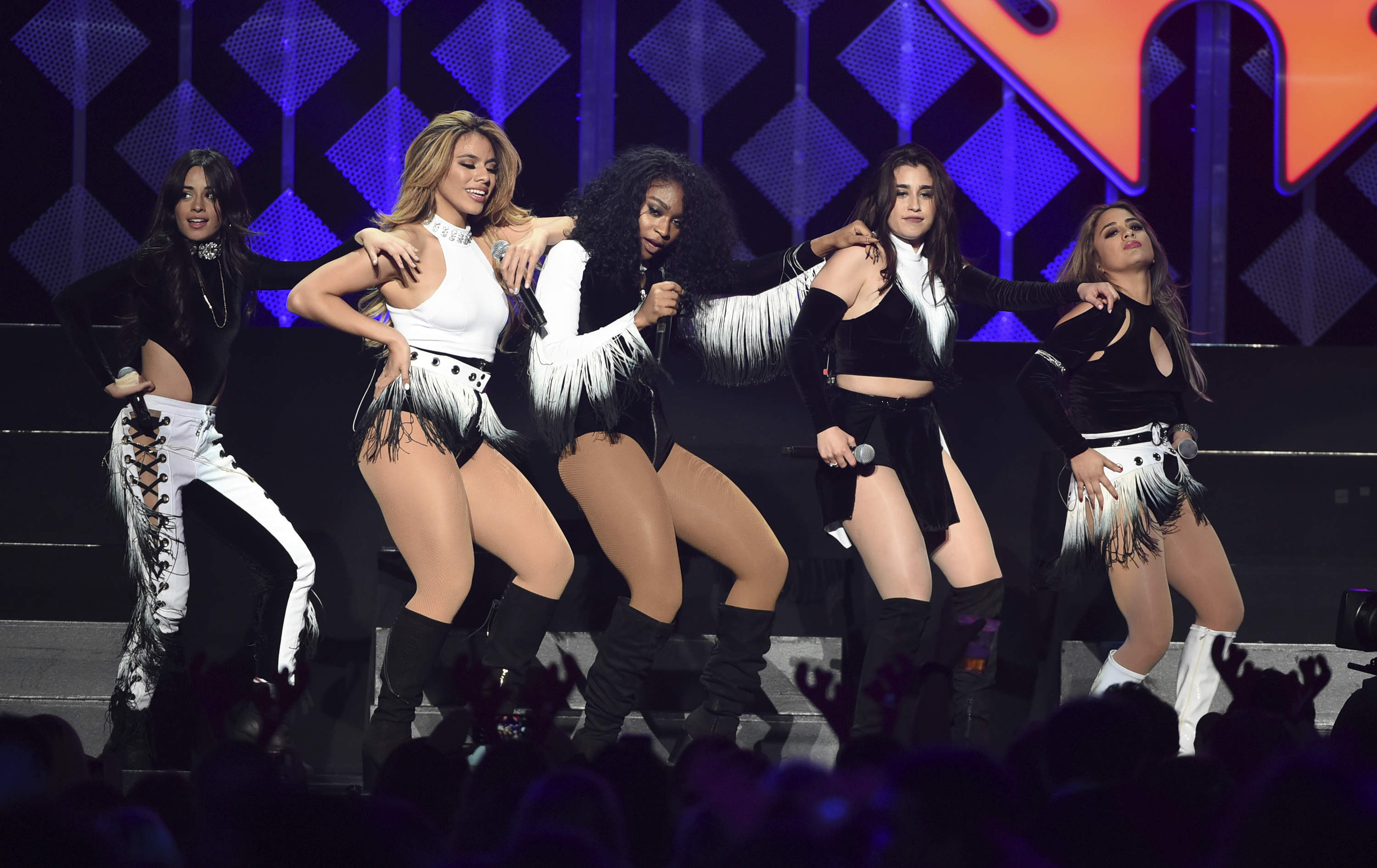 Fifth Harmony perform at the Jingle Ball 2016