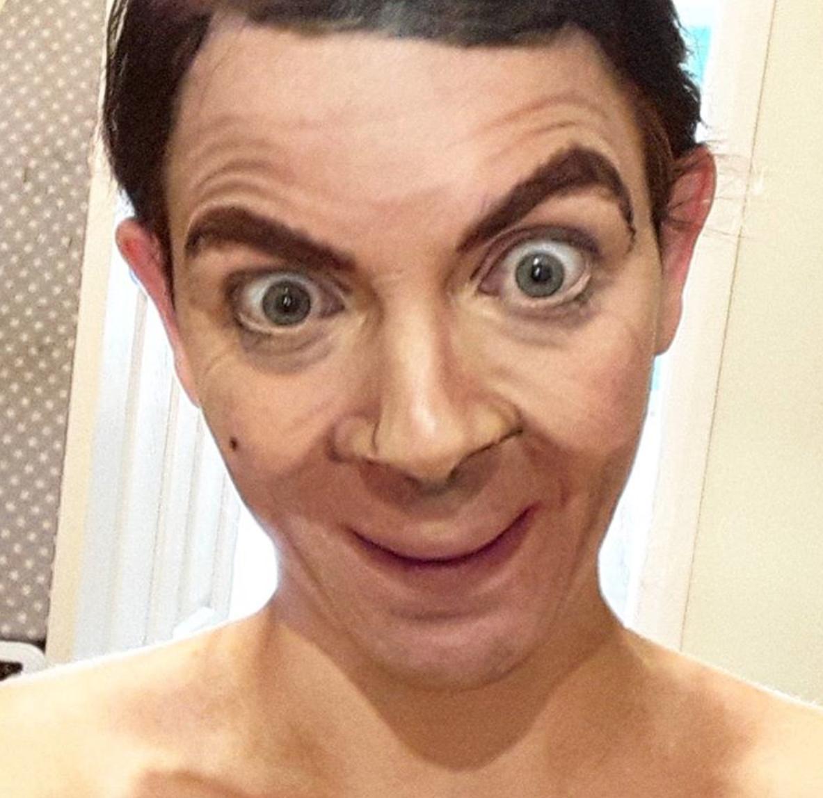 Samantha Staines Mr Bean