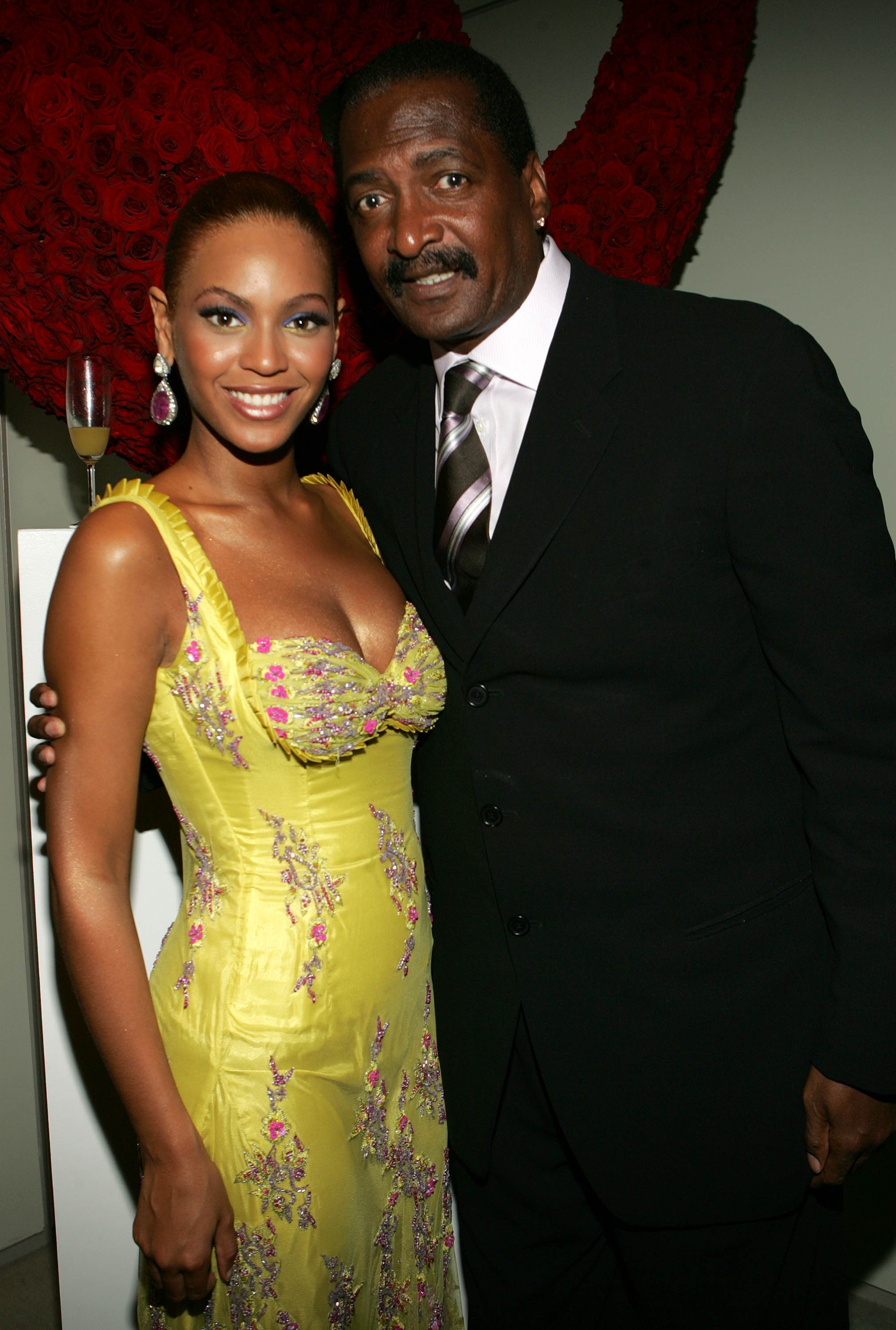 Beyonce & Matthew Knowles