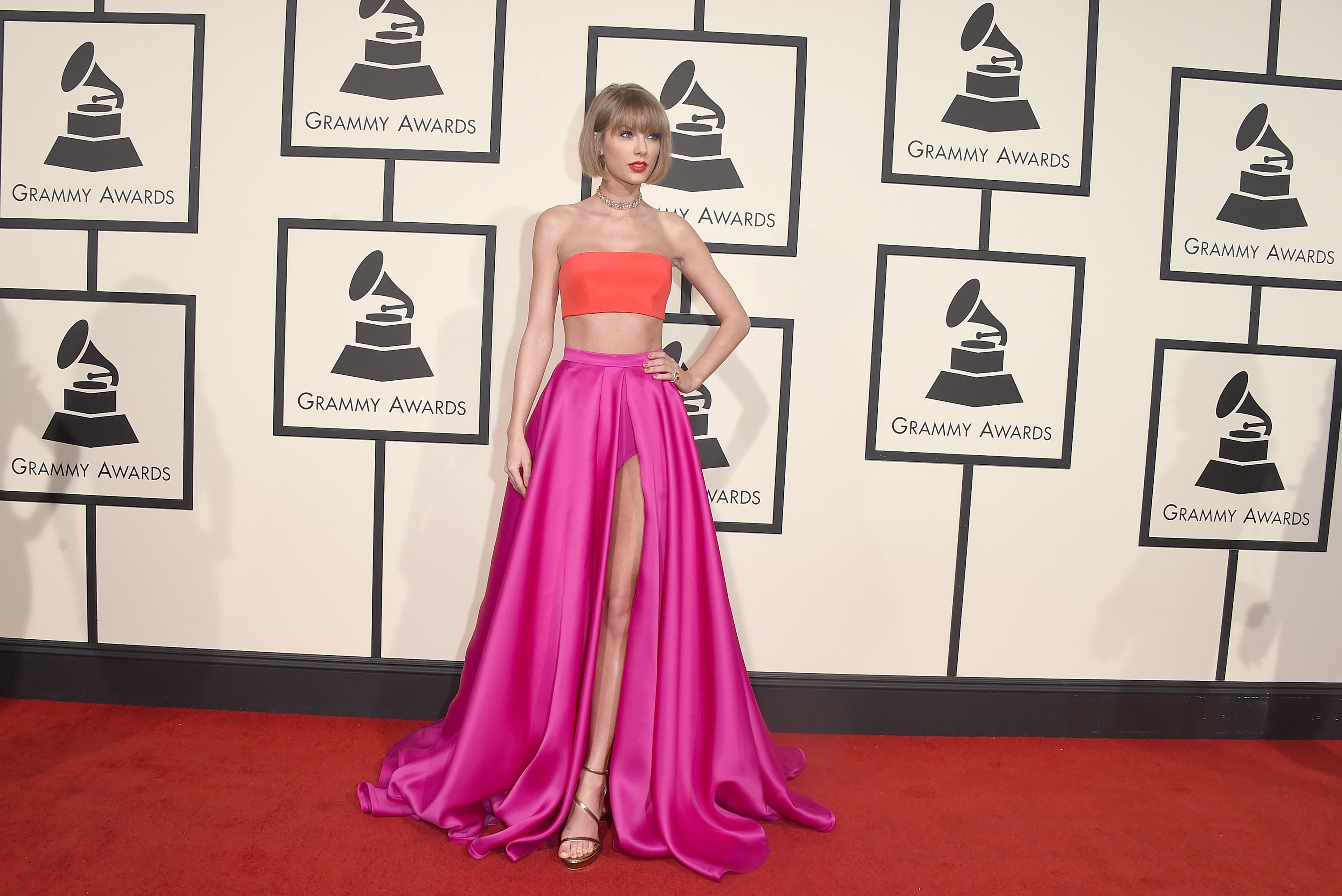 Taylor Swift at the Grammys 2016