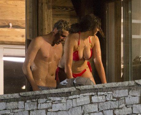 Chloe Ferry Geordie Shore in hot tub