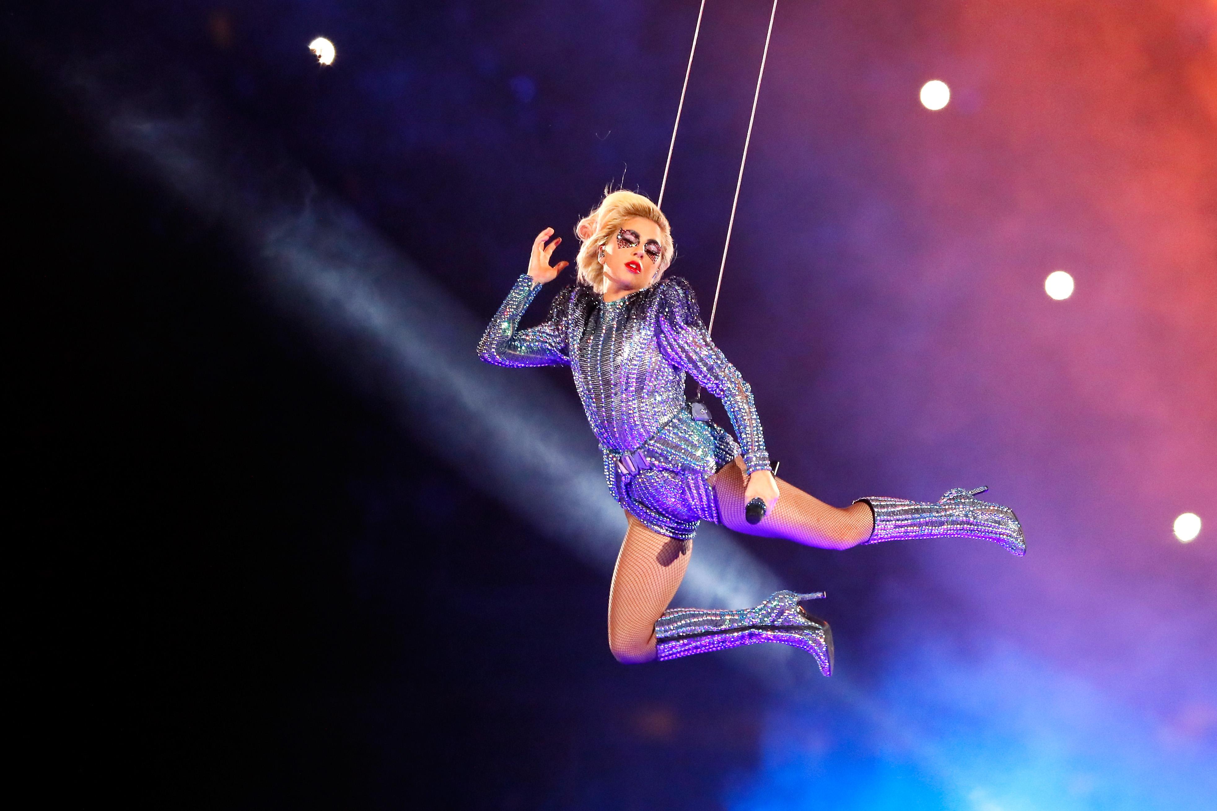 Lady Gaga Super Bowl 2017 Half Time Show