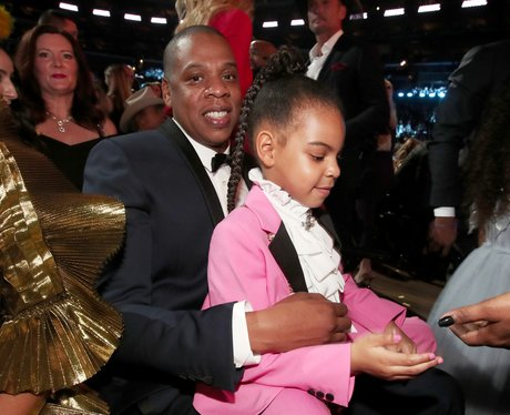 Jay-Z and Blue Ivy Grammy Awards 2017