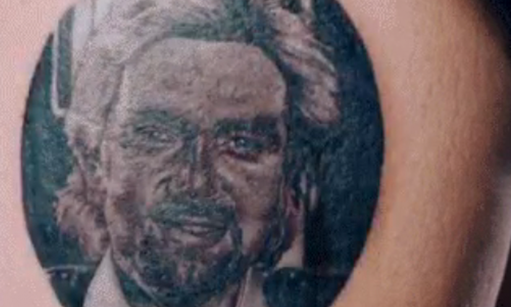 Noel Edmonds Tattoo
