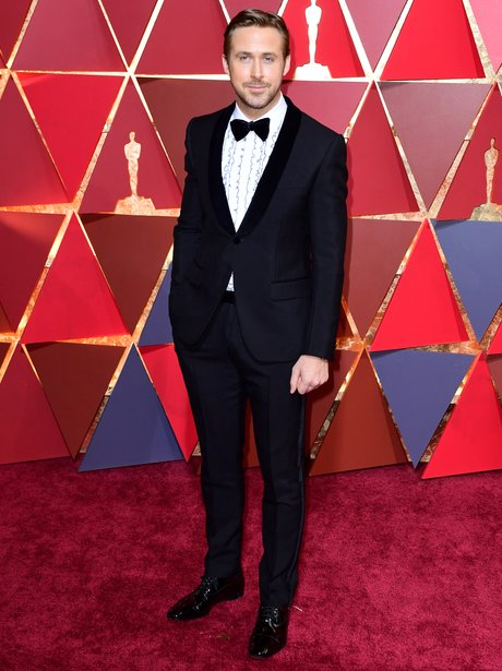 Ryan Gosling at the Oscars 2017