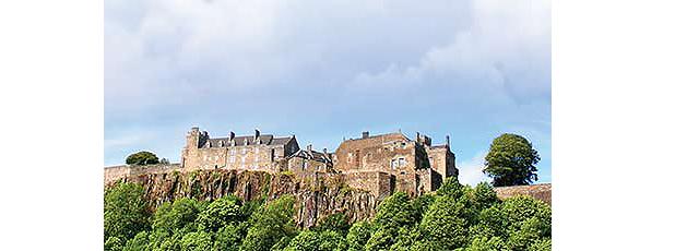 edinburgh castle capital