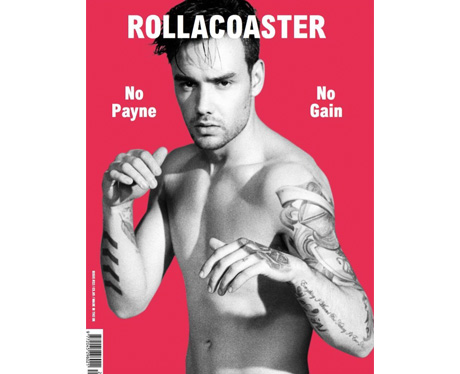 Liam Payne on the cover of Rollacoaster